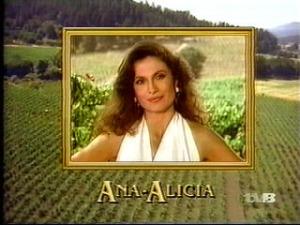 Actress Ana Alicia Falcon Crest