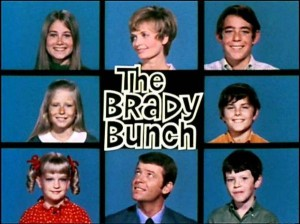 "The ""Brady Bunch"" main title card"