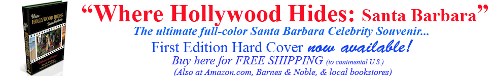 where hollywood hides book hard cover full color santa barbara