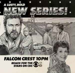 """Falcon Crest"" tv series"