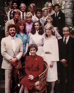"The cast of ""Falcon Crest"""