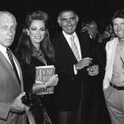Hollywood Wives Premier: Howard W. Koch, Jackie Collins, Bob