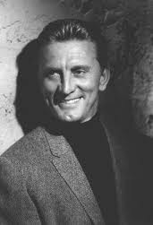 "Kirk Douglas: the definition of ""charisma"" breaking into show business"