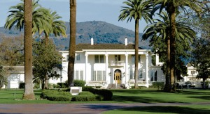 Falcon Crest TV show on location