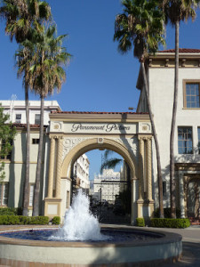 Paramount Studios: Back Home Again...