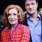 "With Nathan Fillion in""Castle"""