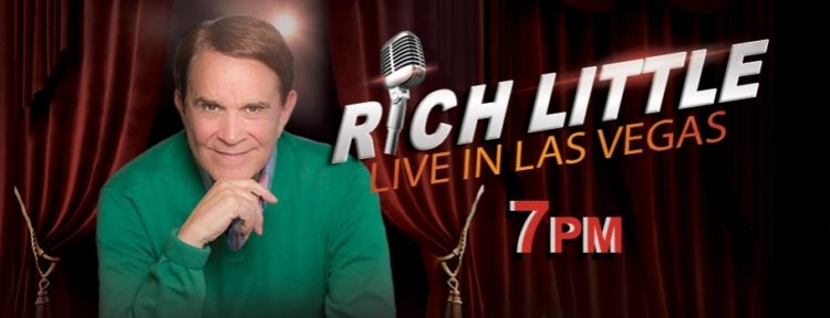 Comedian Rich Little Tropicana Vegas