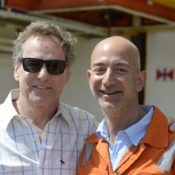 Mark Stouffer working with Jeff Bezos Amazon